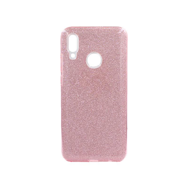Θήκη Huawei P Smart 2019 Glitter Ροζ