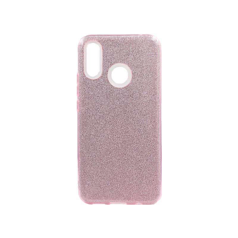 Θήκη Huawei P Smart Plus 2019 Glitter Ροζ