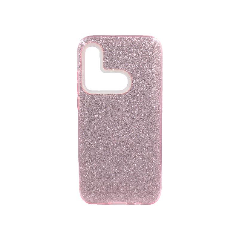 Θήκη Huawei P20 Lite 2019 Glitter Ροζ