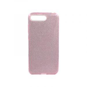 Θήκη Huawei Y6 2018 Glitter Ροζ