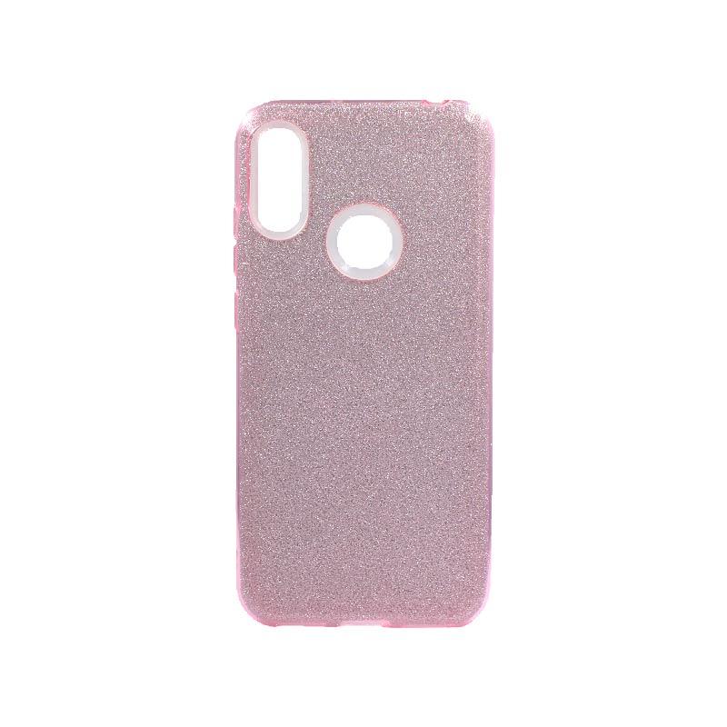Θήκη Huawei Y6 2019 Glitter Ροζ