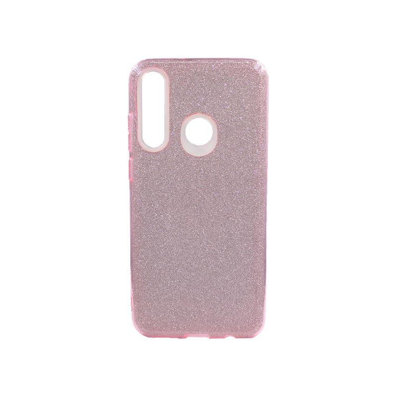 Θήκη Huawei Y6p 2020 Glitter Ροζ