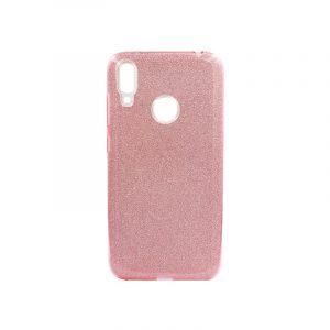 Θήκη Huawei Y7 2019 Glitter Ροζ