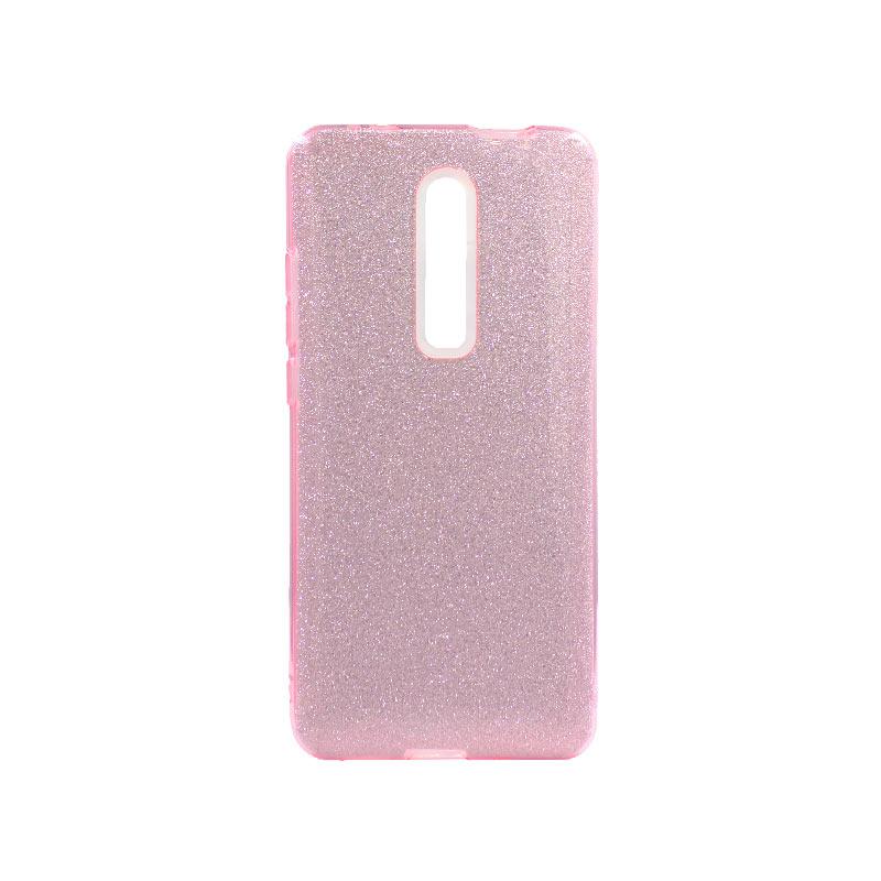 Θήκη Xiaomi Mi 9T / K20 / K20 Pro Glitter Ροζ