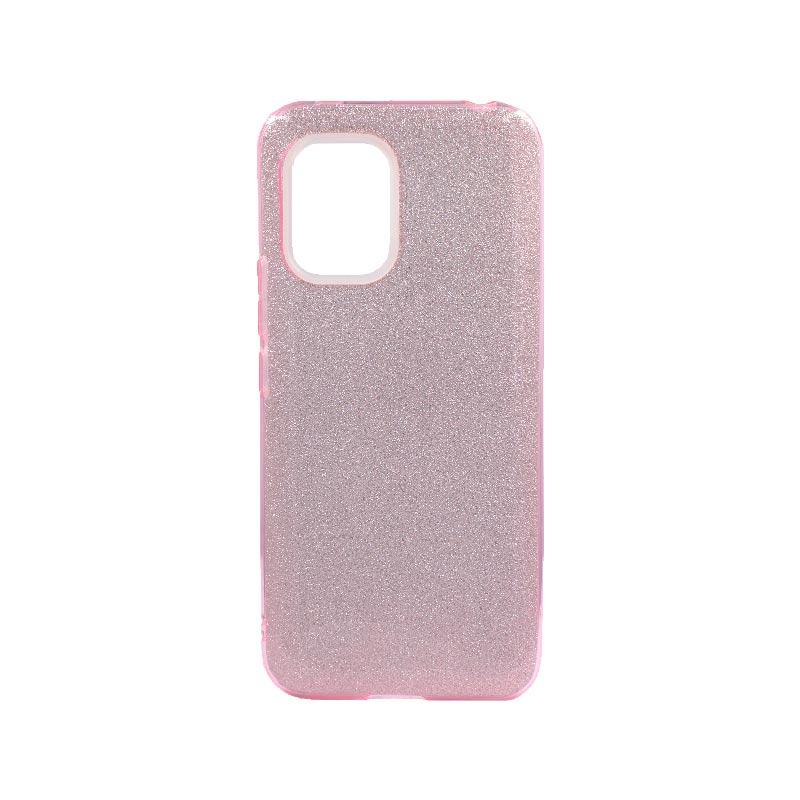 Θήκη Xiaomi Mi 10 Lite Glitter Ροζ