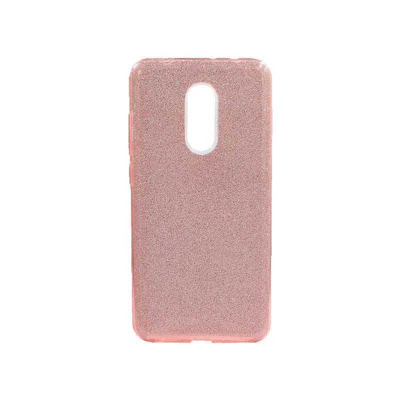 Θήκη Xiaomi Redmi 5 Glitter Ροζ