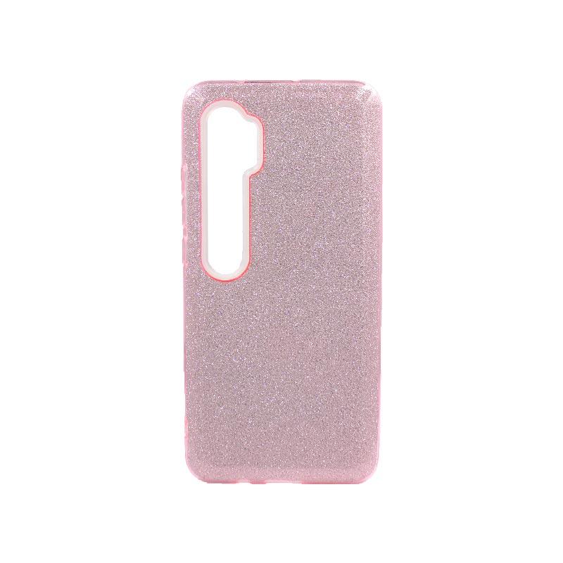 Θήκη Xiaomi Mi Note 10 / Note 10 Pro / CC9 Pro Glitter Ροζ
