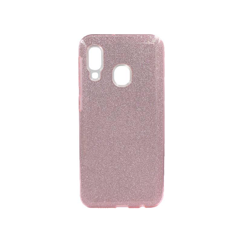 Θήκη Samsung Galaxy A10e / A20e Glitter Ροζ