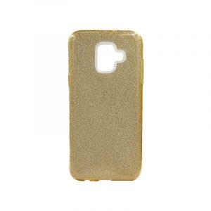 Θήκη Samsung Galaxy A6 2018 Glitter Χρυσό
