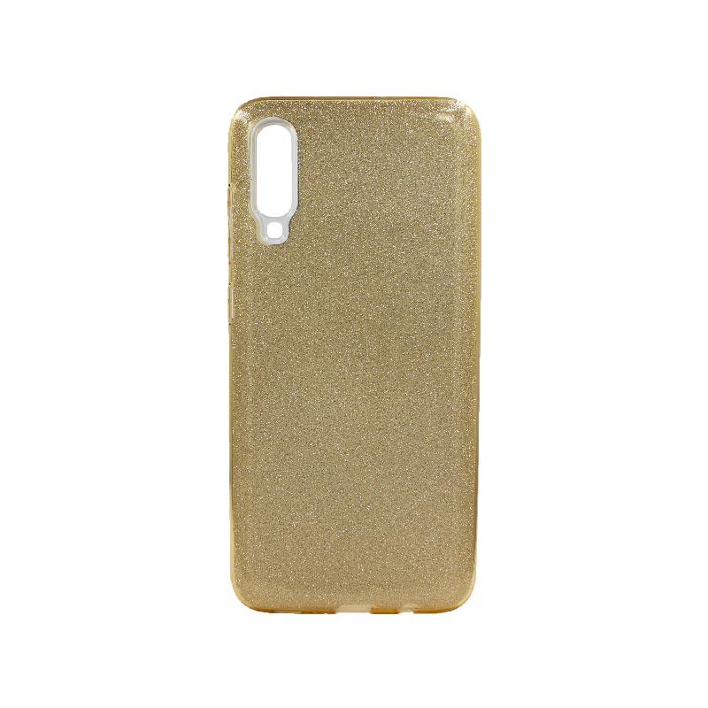Θήκη Samsung Galaxy A70 / A70s Glitter Χρυσό