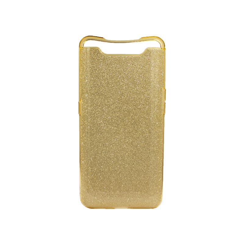 Θήκη Samsung Galaxy A80 Glitter Χρυσό