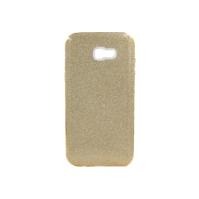 Θήκη Samsung Galaxy A7 2017 Glitter Χρυσό