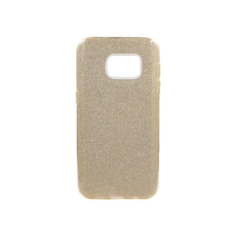 Θήκη Samsung Galaxy S7 Glitter Χρυσό