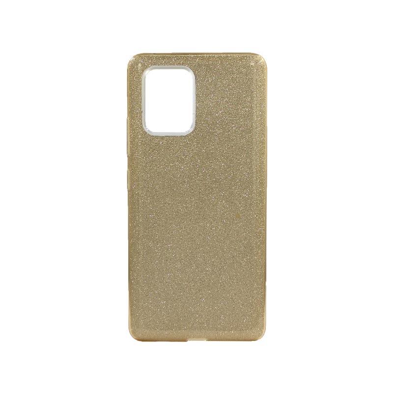 Θήκη Samsung Galaxy S10 Lite 2020 Glitter Χρυσό