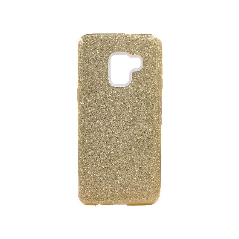 Θήκη Samsung Galaxy A5 / A8 2018 Glitter Χρυσό