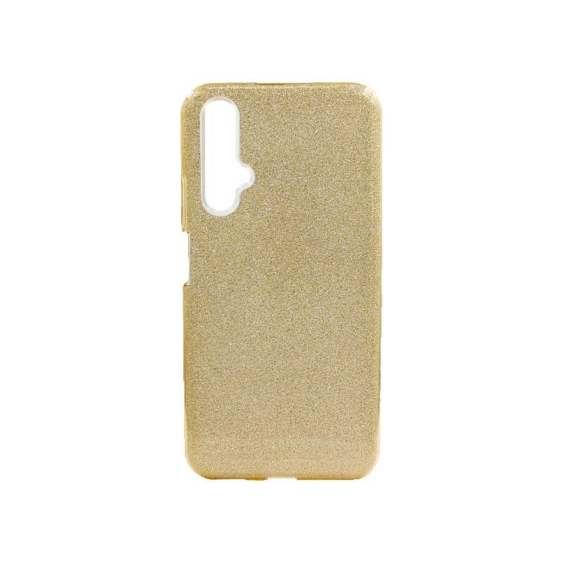 Θήκη Honor 20 / Huawei Nova 5T Glitter Χρυσό