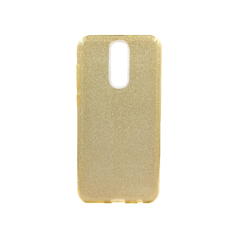 Θήκη Huawei Mate 10 Lite Glitter Χρυσό