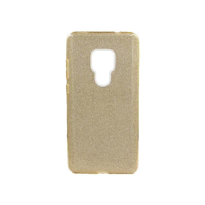 Θήκη Huawei Mate 20 Glitter Χρυσό