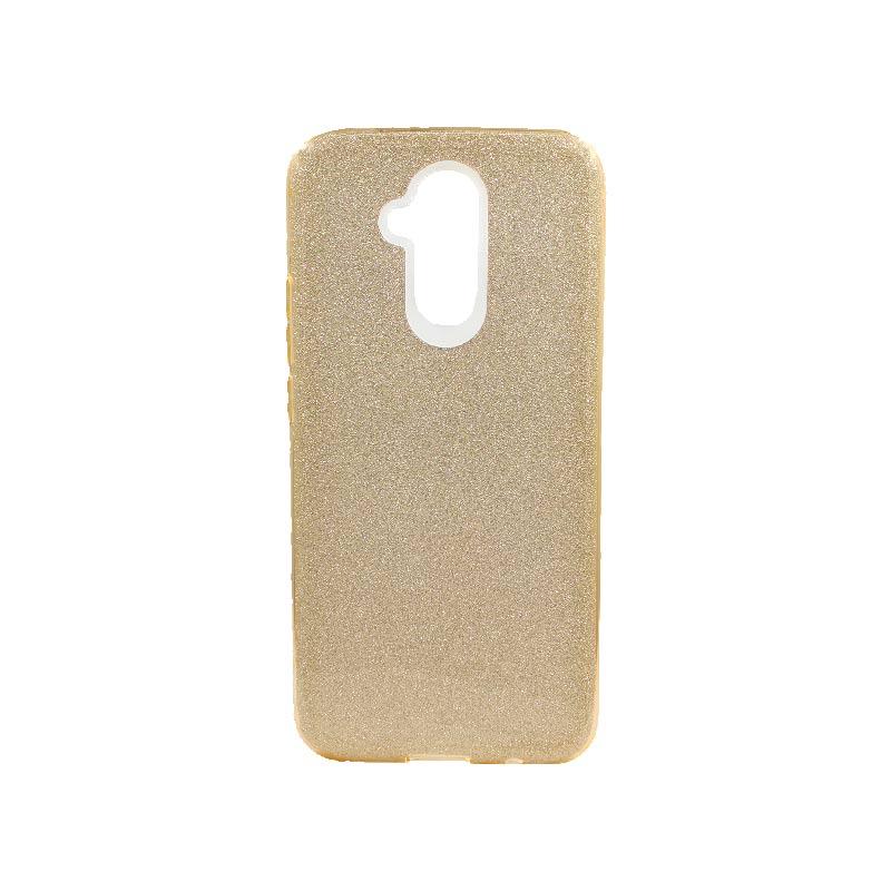 Θήκη Huawei Mate 20 Lite Glitter Χρυσό