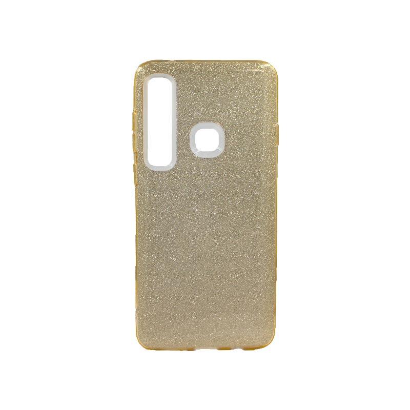 Θήκη Samsung Galaxy A9 2018 Glitter Χρυσό