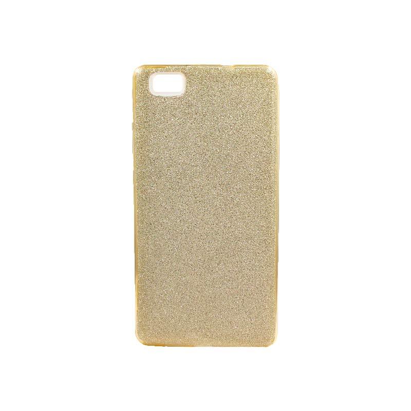 Θήκη Huawei P8 Lite Glitter Χρυσό