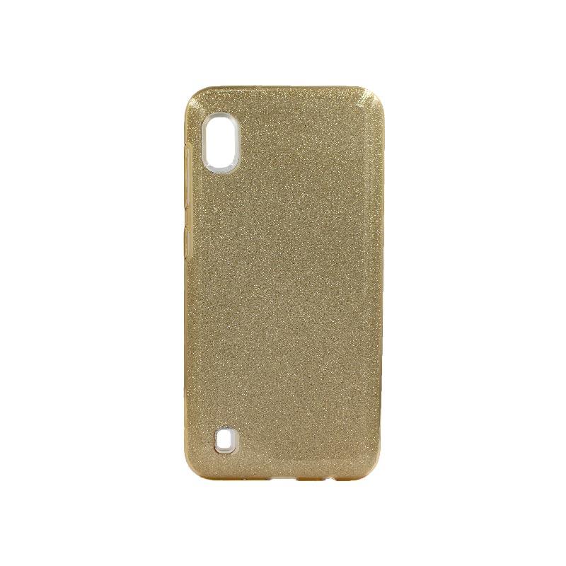 Θήκη Samsung Galaxy A10 Glitter Χρυσό