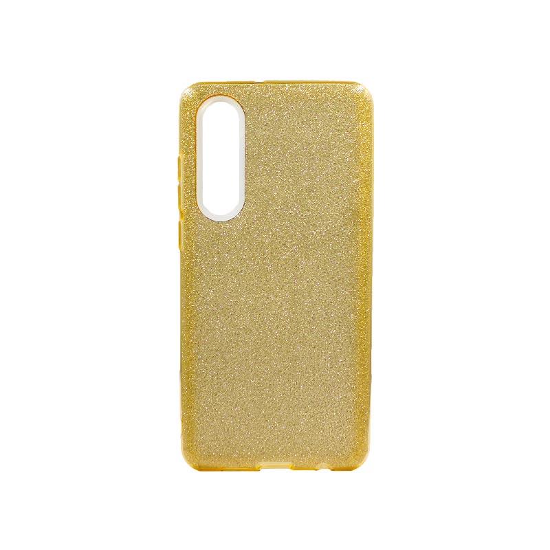 Θήκη Huawei P30 Glitter Χρυσό