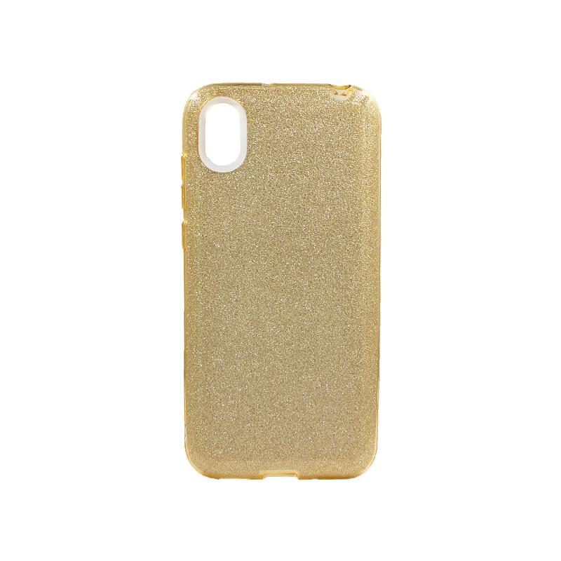 Θήκη Huawei Y5 2019 Glitter Χρυσό