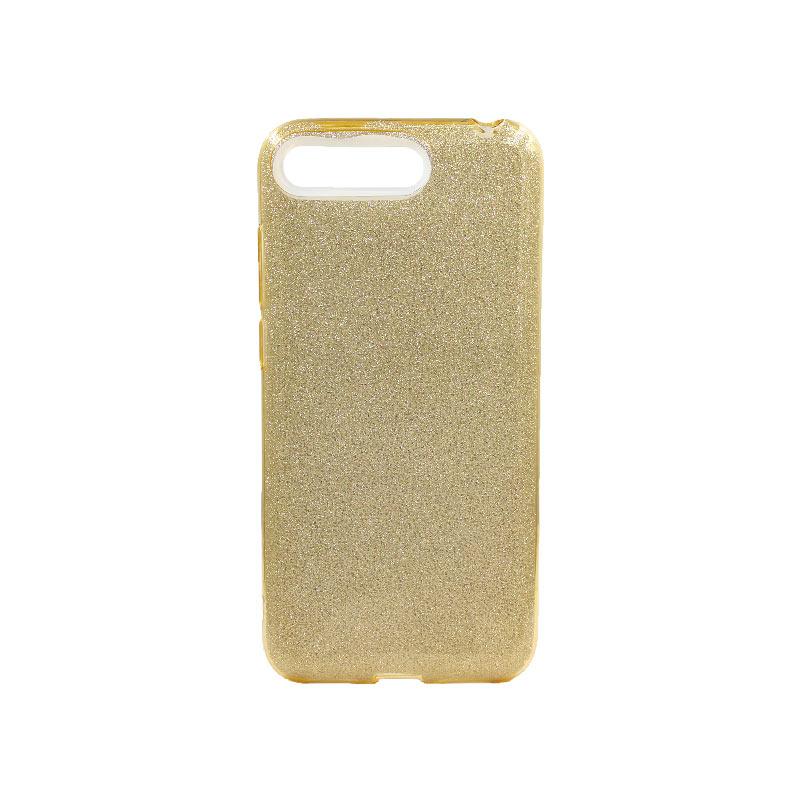 Θήκη Huawei Y6 2018 Glitter Χρυσό