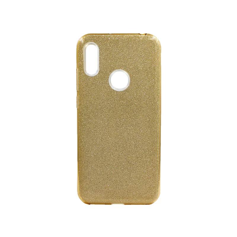 Θήκη Huawei Y6 2019 Glitter Χρυσό