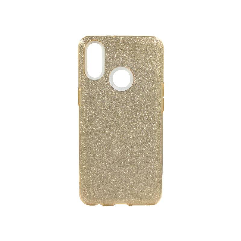 Θήκη Samsung Galaxy A10s Glitter Χρυσό