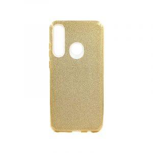 Θήκη Huawei Y6p 2020 Glitter Χρυσό