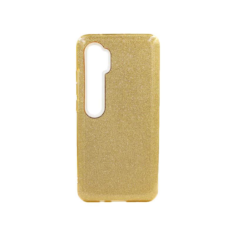 Θήκη Xiaomi Mi Note 10 / Note 10 Pro / CC9 Pro Glitter Χρυσό