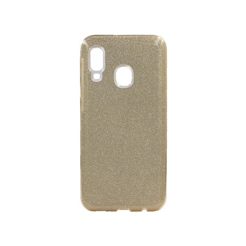Θήκη Samsung Galaxy A10e / A20e Glitter Χρυσό