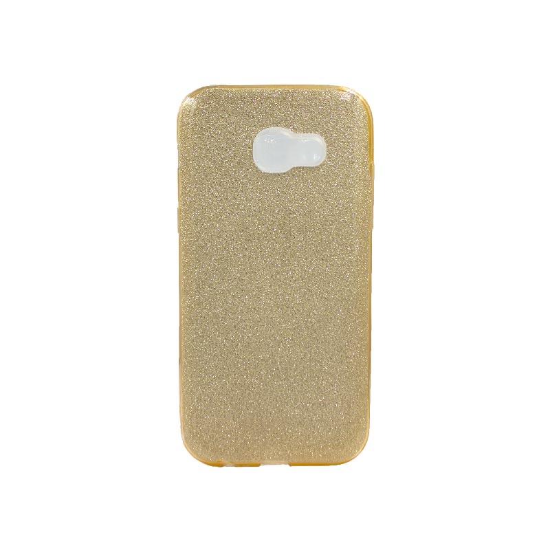 Θήκη Samsung Galaxy A5 2017 Glitter Χρυσό