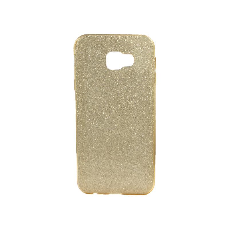 Θήκη Samsung Galaxy J4 Plus Glitter Χρυσό