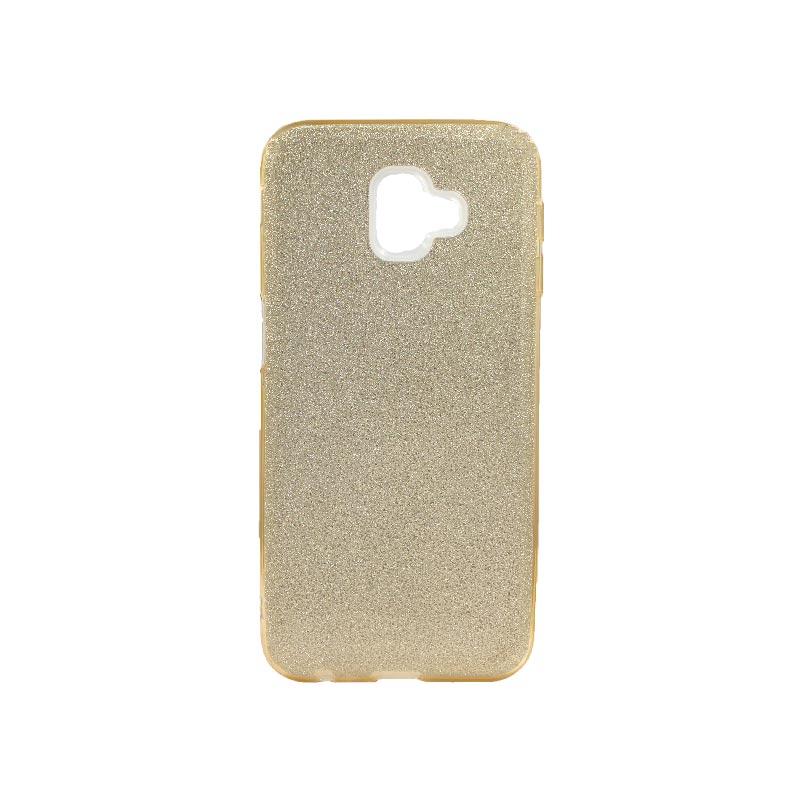 Θήκη Samsung Galaxy J6 Plus Glitter Χρυσό