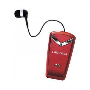 Ασύρματα Bluetooth Ακουστικά Fineblue F-V2 κόκκινο