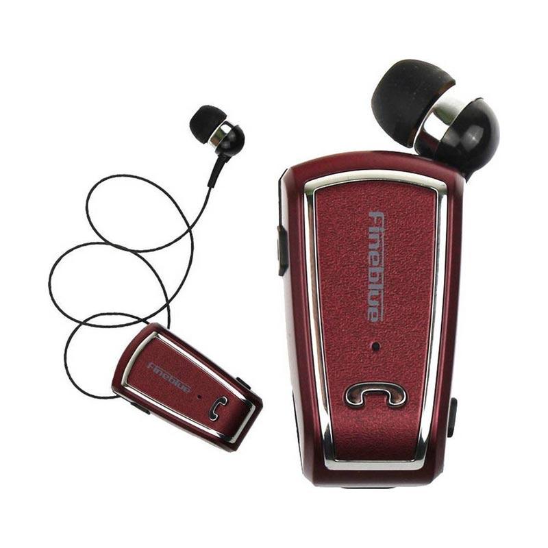 Ασύρματο Bluetooth Ακουστικό Fineblue F-V3 κόκκινο