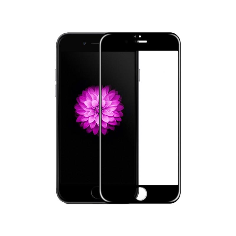 Προστασία Οθόνης Tempered Glass Full Face 9H για iPhone 6 / 6s Μαύρο