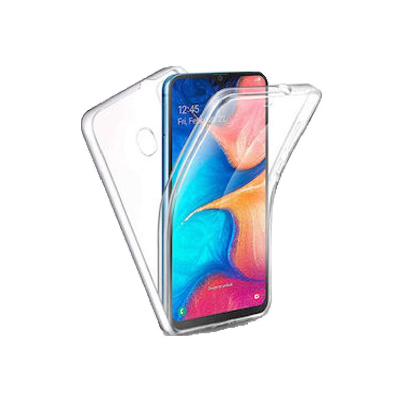 Θήκη 360 Full Cover Σιλικόνης Διάφανο Samsung Galaxy A20 / A30