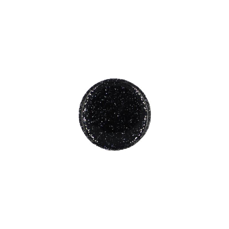 Pop Socket Glitter με Βάση Αυτοκινήτου μαύρο