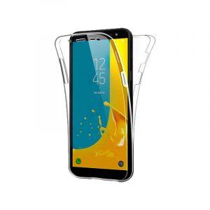 Θήκη 360 Full Cover Σιλικόνης Διάφανο Samsung Galaxy J4 Plus