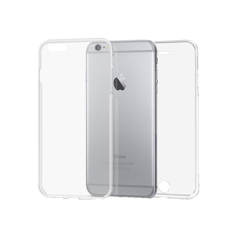 Θήκη 360 Full Cover Σιλικόνης Διάφανο iPhone 6 Plus / 6s Plus