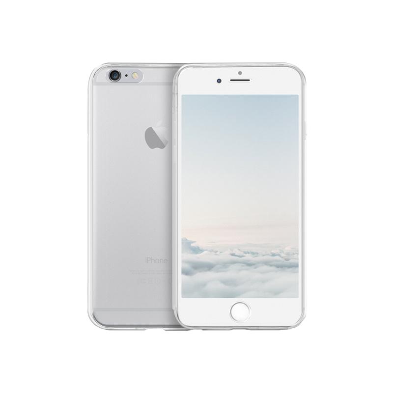 Θήκη 360 Full Cover Σιλικόνης Διάφανο iPhone 6 Plus / 6s Plus 1