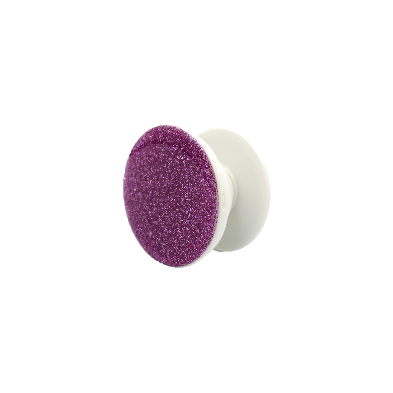 Pop Socket Glitter με Βάση Αυτοκινήτου ροζ 1
