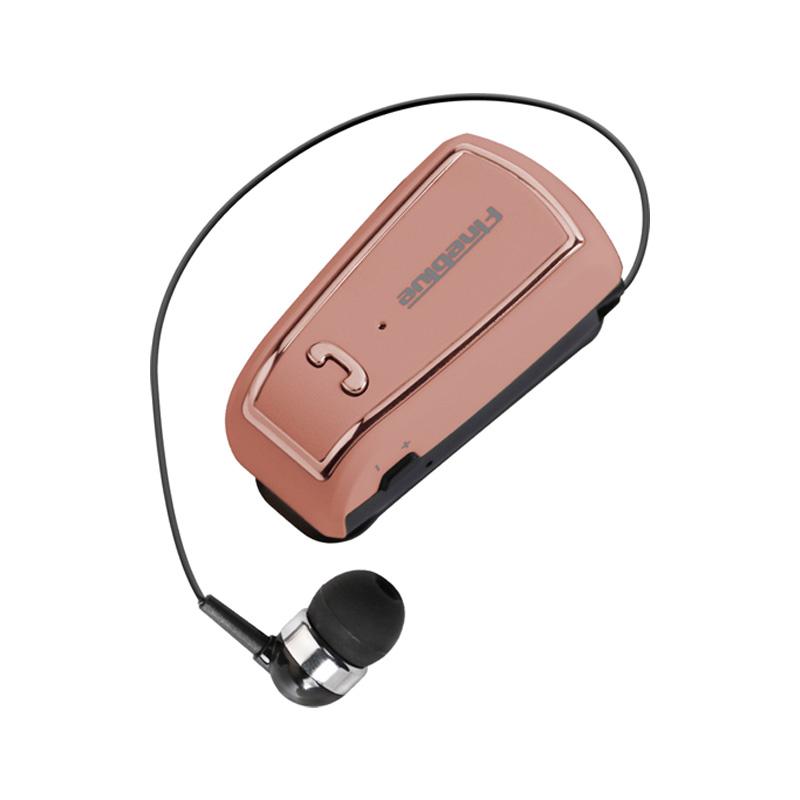 Ασύρματο Bluetooth Ακουστικό Fineblue F-V3 ροζ