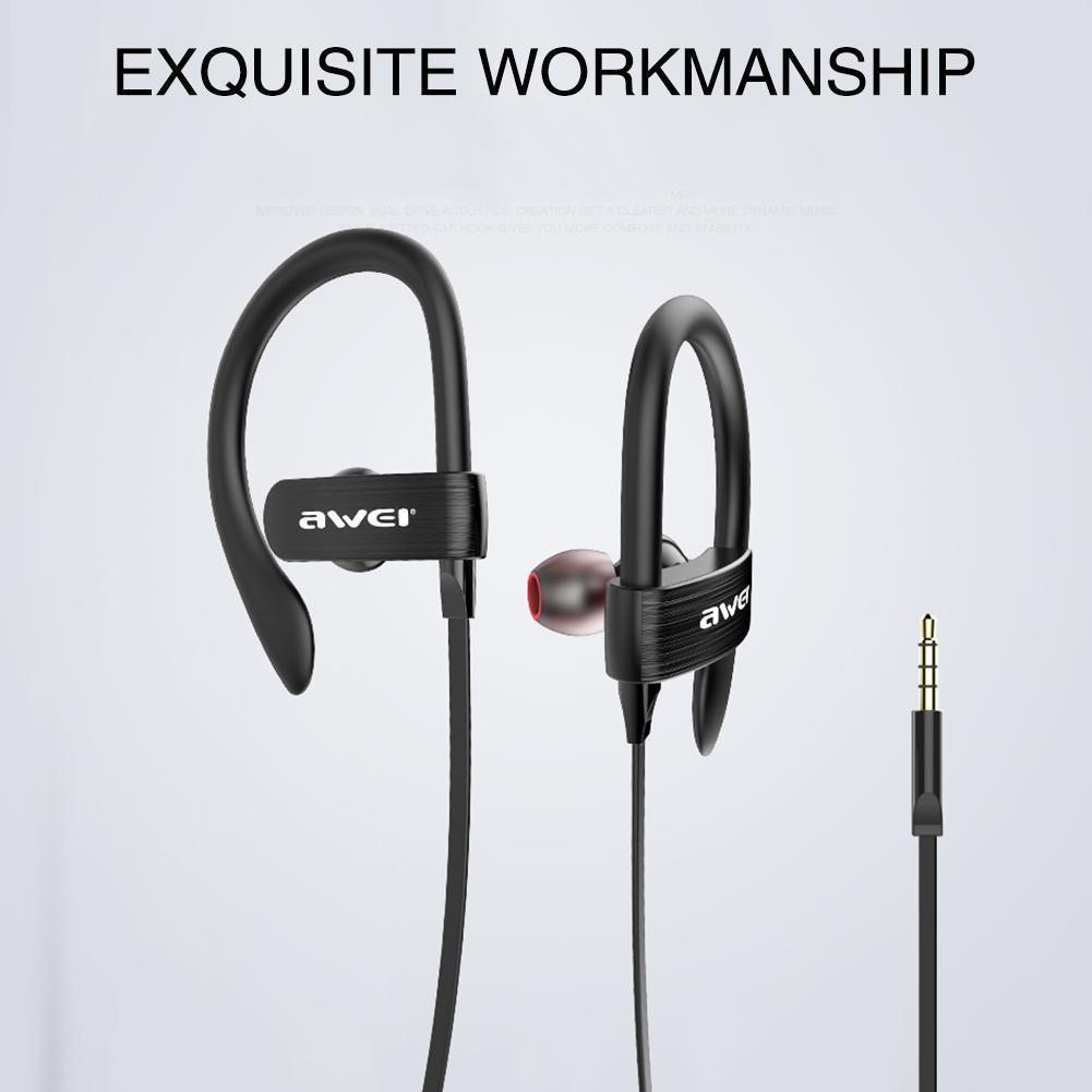 Handsfree Ακουστικά Awei ES-160i διαφημιστικό