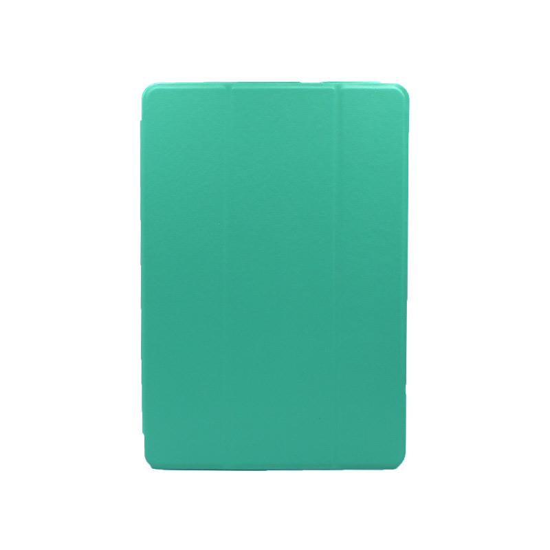 """Θήκη Huawei MediaPad T5 Tablet 10"""" Tri-Fold Flip Cover τιρκουάζ 1"""