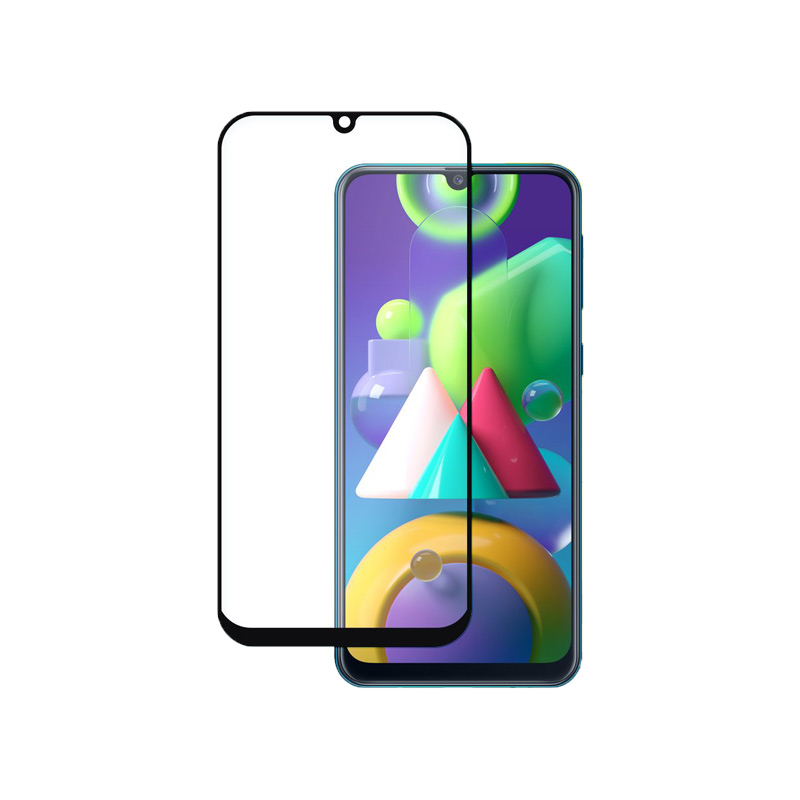 Προστασία οθόνης Full Face Tempered Glass 9H για Samsung Galaxy M30